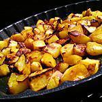 recette Pommes de terre sautés au miel citron epicèe au curry (au four)