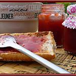 recette Confiture de Fraises et rhubarbe