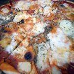 recette Pizza reste de raclette