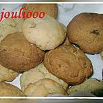 recette Cookies fondants aux noix!
