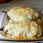 recette Aubergines farcies façon moussaka