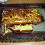 recette Cake courgette et lardons