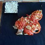 recette Filet de Colin à la tomate et oignon express