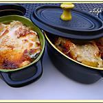 recette Gratin de courgettes et chorizo