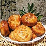 recette Mini-cakes au pâté Hénaff et à la sauge