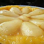 recette Tatin de poires au sirop de réglisse
