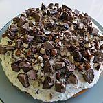 recette Tarte aux rochers pralinés