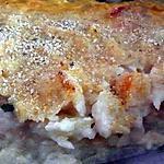 recette Gratin de morue aux crevettes