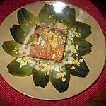 recette assiette  artichaut  , salade  composée