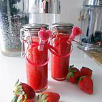 recette Coulis de fraise
