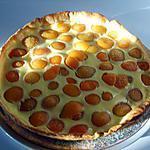 recette Tarte abricots crème de noisettes
