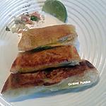 recette Bricks au saumon fumé et au fromage