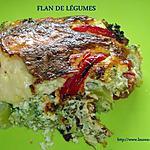 recette FLAN DE LEGUMES