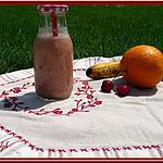 recette Smoothie Oranges Banane- Cerises