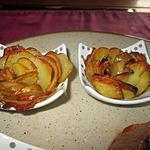 recette les roses de monsieur charpentier  de la serviette sur  la table de signé déco