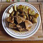 recette Epaule de porc et ses p.de terre dorées au four