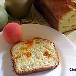 recette Cake aux Petits Suisses, Pommes-Abricots
