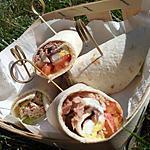recette Wrap bagnat *pique-nique* de mon Papa
