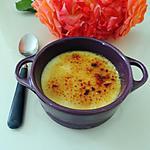 recette Crème aux oeufs et griottes