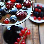 recette Kir royal en gelée de fruits des bois