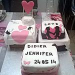 recette gâteau mariage de ma soeur