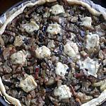 recette tarte aux aubergines