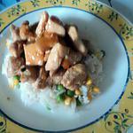 recette Blanc de poulet a la sauce abricot