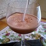 recette Milk-shake aux Amandes, Cacao et Vanille.