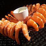 recette Aioli de bouquet de crevettes