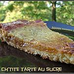 recette Ch'tite tarte au sucre