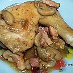 recette cuisses de poulet en cocotte