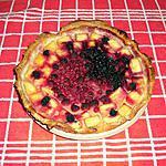 recette Tarte Ananas - Fruits Rouges.