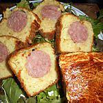recette Saucisse de morteau en brioche