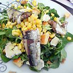 recette Salade aux sardines