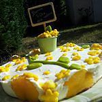 recette Mon Pêchier (gâteau fêtes des Méres) *pour ma Mamie*