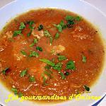 recette Soupe thaïe aux crevettes