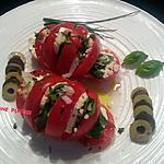 recette Tomates mozzarella