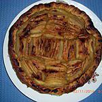 recette Tarte aux Pommes à la compote de Pommes au Romarin