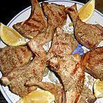 recette Cotes d agneau à la scottadito