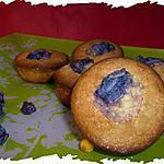 recette Ooo Petits moelleux à la violette ooO