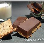 recette Cookies sticks