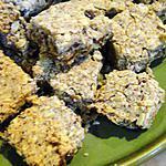 recette Carrés aux abricots secs