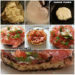 recette PANCAKES saumon – fromageblanc.