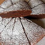 recette Moelleux chocolat et crème de marron
