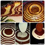 recette Gâteau tigré