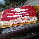 recette Terrine au poivron et surimi de ma Mamie et Maman