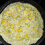 recette Risotto à la courgette jaune et à la ricotta