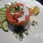 recette Salade de coquillettes au concombre et saumon fumé