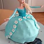 recette Gâteau Reine des Neiges