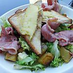recette Salade au lard et camembert